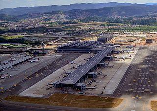 São Paulo/Guarulhos International Airport Primary airport serving São Paulo, Brazil