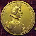 Guillaume dupré, medaglia di Francesco di Ferdinando de' Medici, 1613 (no verso, bronzo dorato).JPG