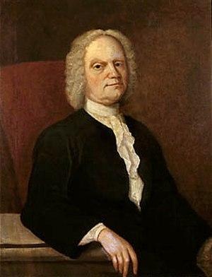 Gustavus Hesselius - Self portrait, ca 1740