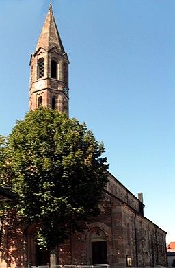 Hügelsheim, Kirche St. Laurentius