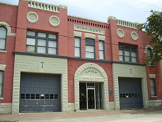 Midtown, Houston - The former Houston Fire Department Station 7