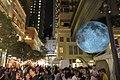 HK 灣仔 Wan Chai 利東街 Lee Tung The Avenue night 月球博物館 big Moon Museum by UK Luke Jerram October 2017 IX1 26.jpg
