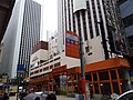 HK 灣仔 Wan Chai 皇后大道東 Queen's Road East bus stop signs view Hopewell Centre cosntruction site Saturday February 2019 SSG 10.jpg