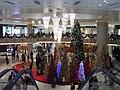 HK West Kln Elements mall interior 02 Xmas trees.JPG