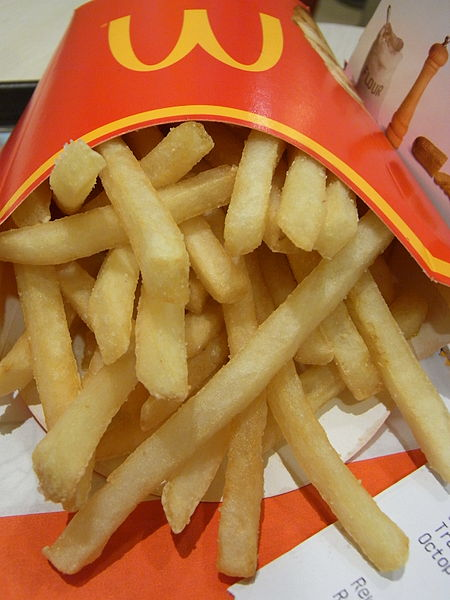 Mcdonalds French Fries...