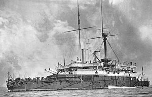 Admiral-class ironclad - HMS Anson