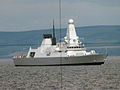 HMS Daring photograhed throught the search periscope of HMS Superb. MOD 45147431.jpg