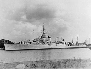 HMS Fal 1943 IWM FL 10071