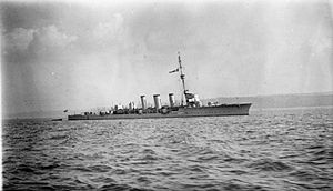 HMS Inconstant (1914) - Image: HMS Inconstant (1914)
