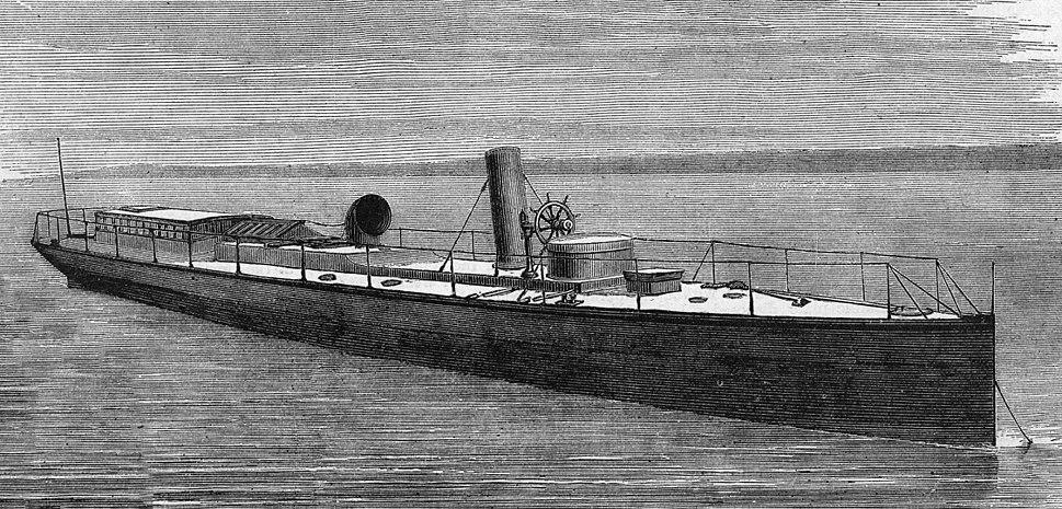HMS Lightning - Torpedo Boat 1877