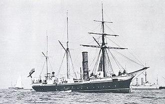 Nymphe-class sloop - HMS Nymphe
