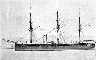 Bulwark-class battleship (1859) - Image: HMS Royal Alfred (1864)