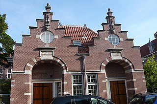 Coen Cuserhof hofje named after a Dutch knight