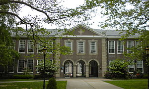 Haddonfield Memorial High School - Image: Haddonfield NJ High School