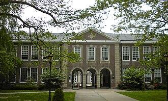 Haddonfield Memorial High School - Image: Haddonfield NJ High School