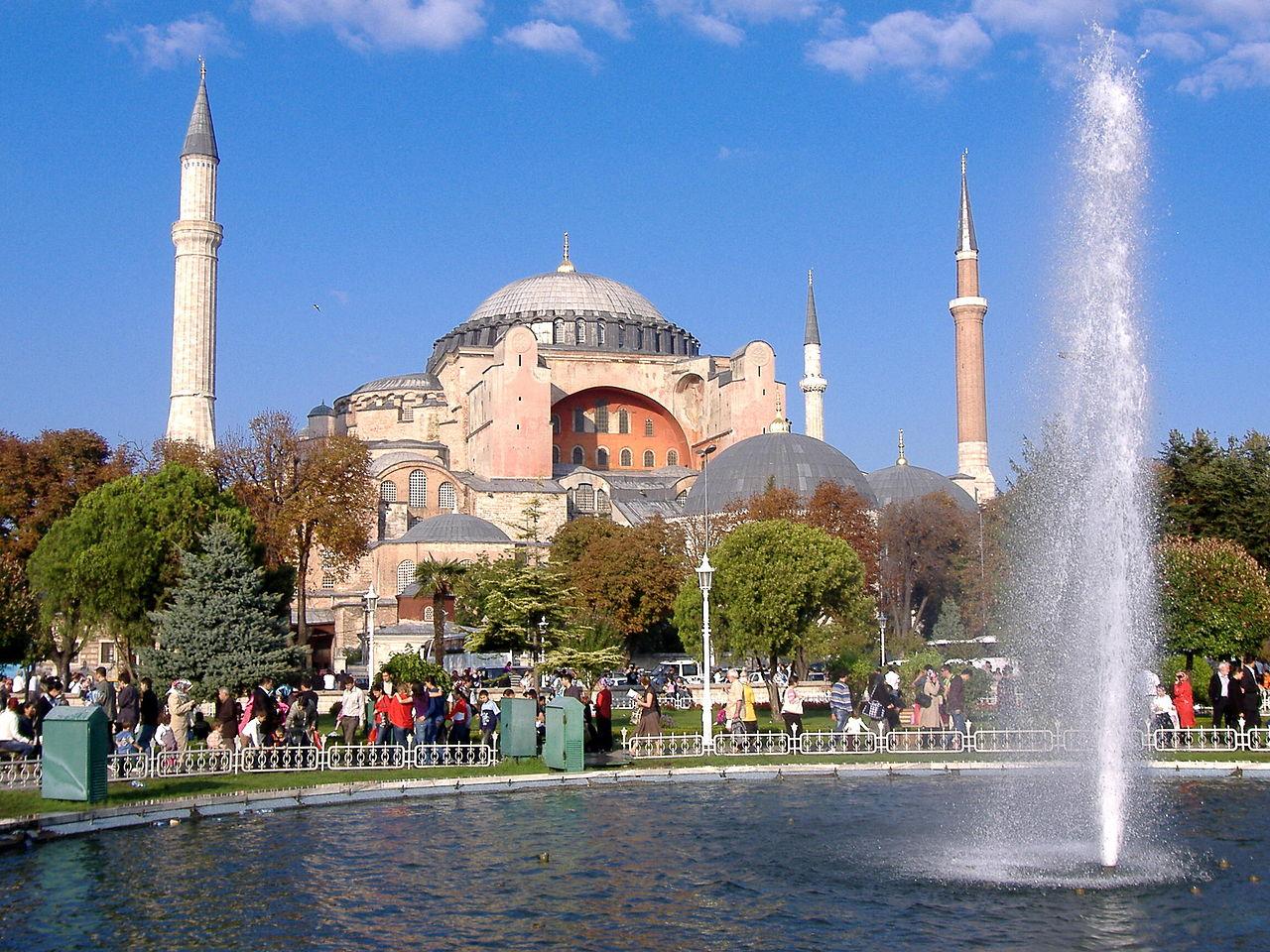 C A Turkey Istanbul File:Hagia Sophia (Ist...