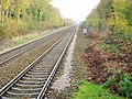 Halewood 1st railway station (site), Merseyside (geograph 4247773).jpg
