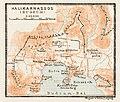 Halicarnassus (Halikarnassós, Bodrum), ancient site map, 1914.jpg