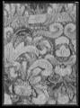 Handhästtäcke ur en svit om tolv stycken med svenska riksvapnet. Tillhört Karl XI (1655-1697) - Livrustkammaren - 19090.tif
