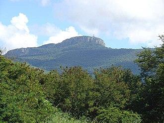 Soutpansberg - Hanglip promontory, overlooking Louis Trichardt