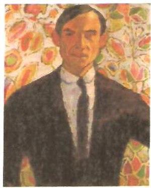 Hanns Bolz - Self-portrait (1910)