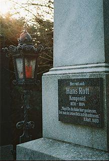 Hans Rott Austrian composer