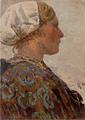 Hans von Bartels - Arida van der Plas, Katwijk 1896.png