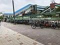 Hanyang Univ station plaza 2018,04,23.jpg