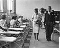 Hare Koninklijke Hoogheid Prinses Irene opent Christelijke Huishoudschool in Ape, Bestanddeelnr 910-6397.jpg
