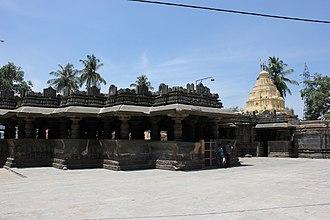 Harihareshwara Temple - Image: Harihareshwara temple at Harihar