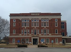 National Register of Historic Places listings in Harmon County, Oklahoma - Image: Harmon County Courthouse