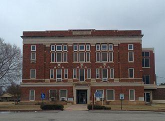 Harmon County, Oklahoma - Image: Harmon County Courthouse