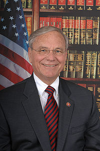 Harry Mitchell, official 110th Congress photo portrait, color.JPG