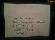 Harry Potter Lettre.JPG