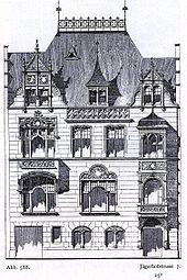Sterbehaus Bendemann (Quelle: Wikimedia)
