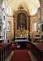 Hausleiten - Pfarrkirche, Altar.JPG