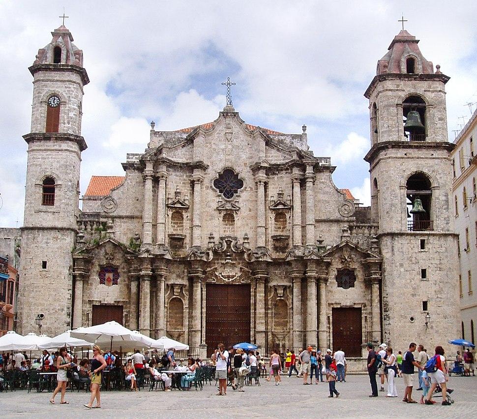 Havana Cathedral crop