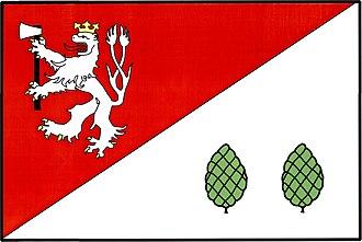 Havlíčkova Borová - Image: Havlíčkova Borová vlajka