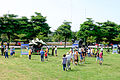 Hawk missiles with Launcher and M1097 Avenger Display at Hualien & Taitung Defence Command Ground 20150704.jpg