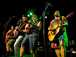 Hayseed Dixie in Stavanger, Norwegen, 2008