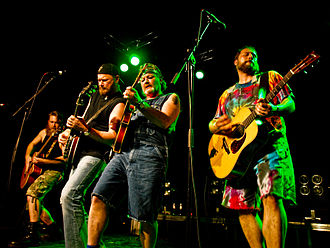 Hayseed Dixie - Hayseed Dixie performing in Stavanger, Norway, 2008