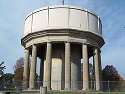 Hazen Water Tower from East.JPG