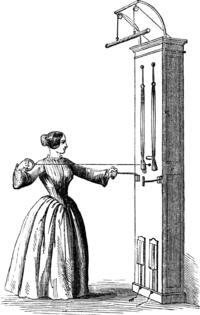 FIG. 2.—Bow, OR ARCHERY EXERCISE.
