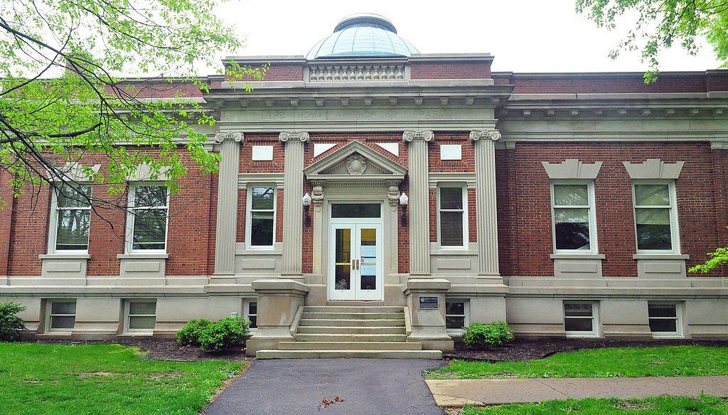 Hendricks Hall front entrance