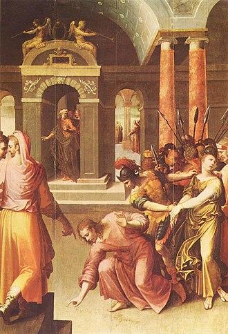 Papias of Hierapolis - Image: Henri Lerambert, Le Christ et la Femme adultère