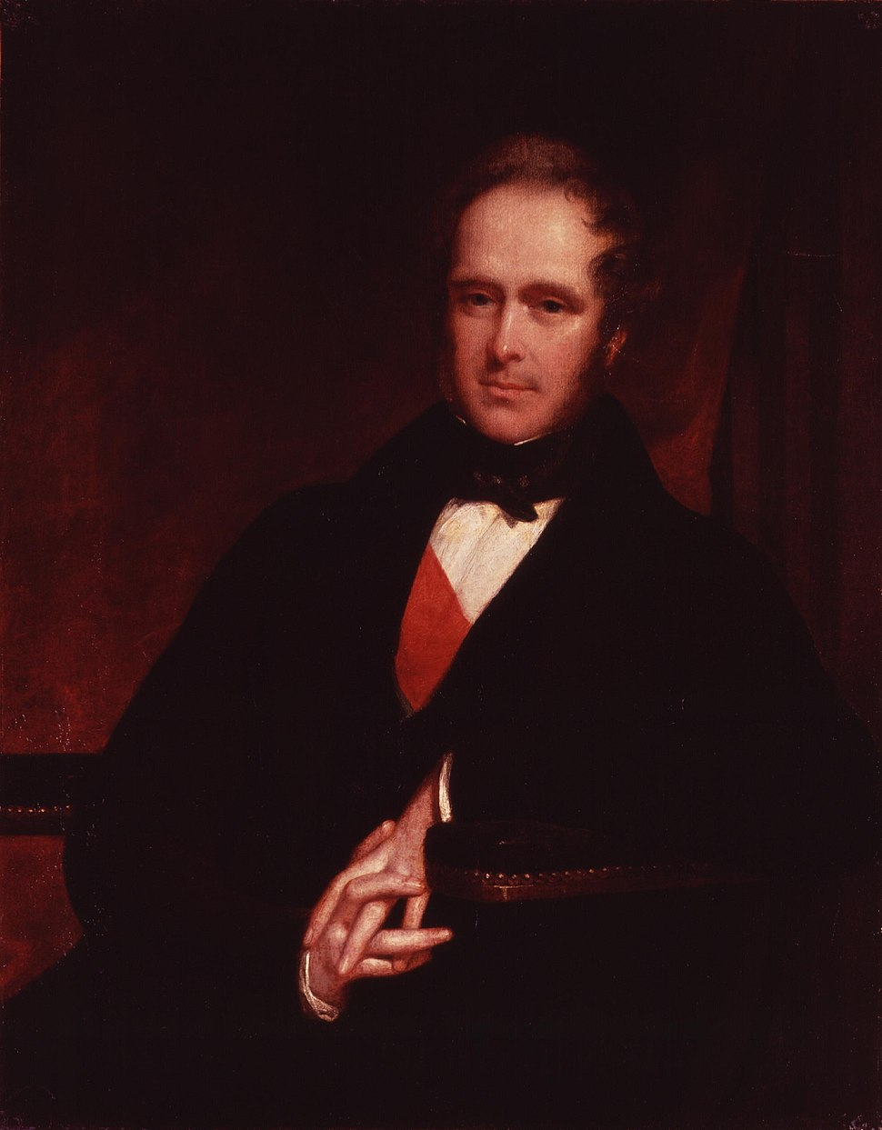 Henry John Temple, 3rd Viscount Palmerston by John Partridge