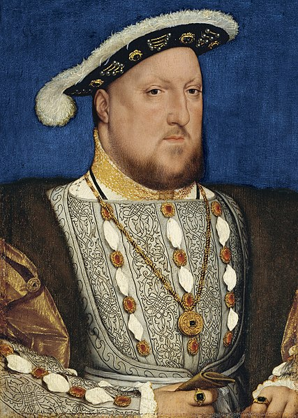 Soubor:Henry VIII of England, by Hans Holbein.jpg