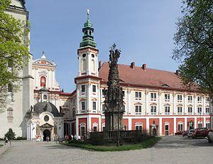 Henryków, Lower Silesian Voivodeship - Cistercian monastery