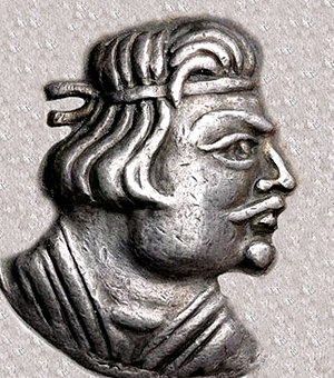 Kushan Empire - The first known Kushan king Heraios (1-30 CE).