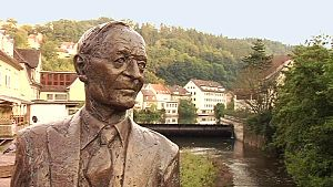English: Statue of Hermann Hesse